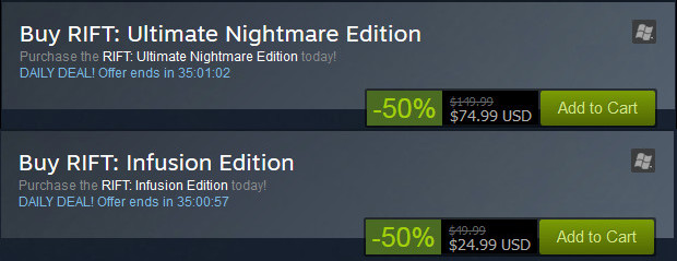 Steam Nightmare Tide Pack Sale