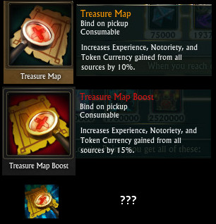 Treasure Map Icons