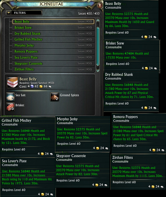 3.4 Survivalist Trainer Recipes PTS
