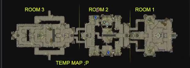 Assault on Bronze Tomb WIP Map UI