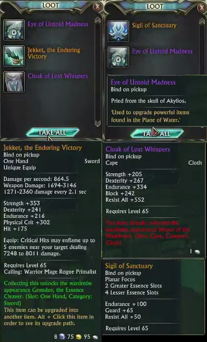Intrepid Gilded Prophecy Loot Uruluuk
