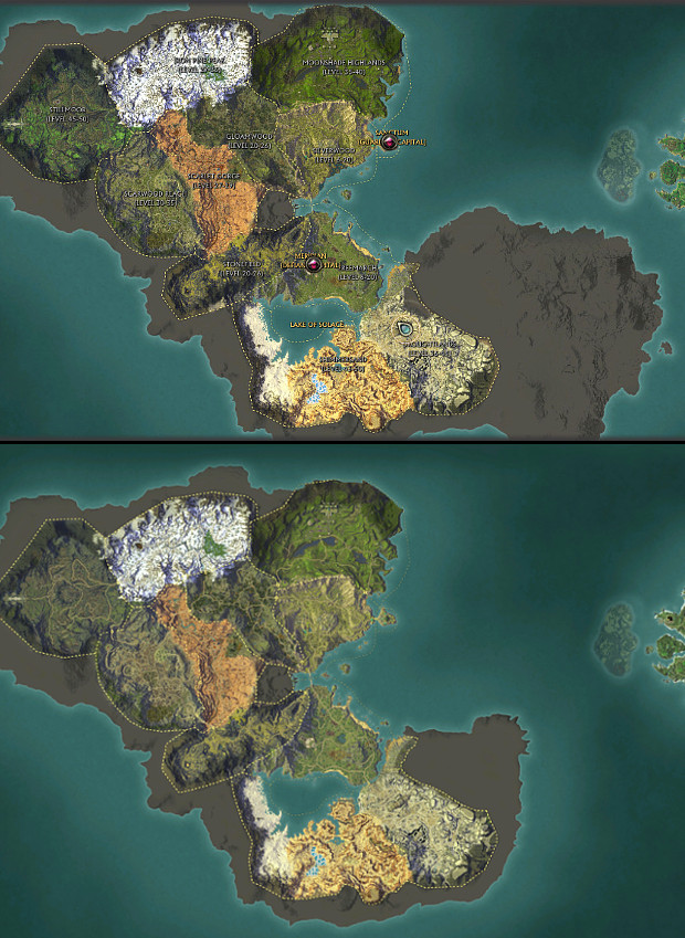 Mathosia Old vs New Planetouched Wilds PTS