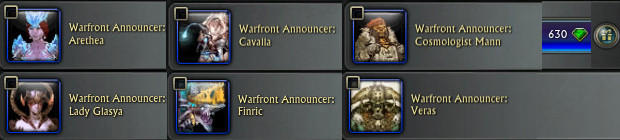 New Warfront Announcers PTS 1st July