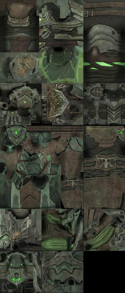 Nightmare Armor Set skins PTS