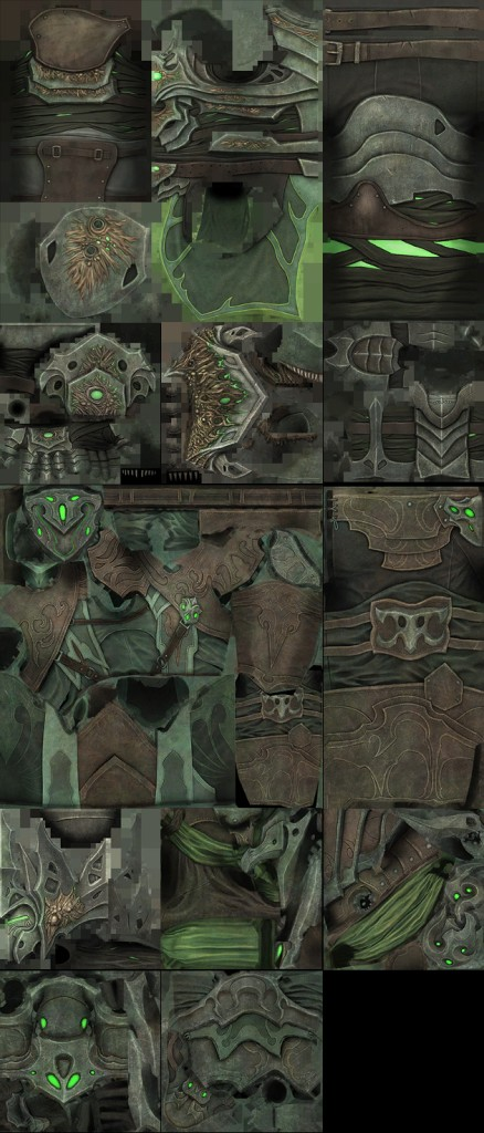 Nightmare Armor Set skins PTS
