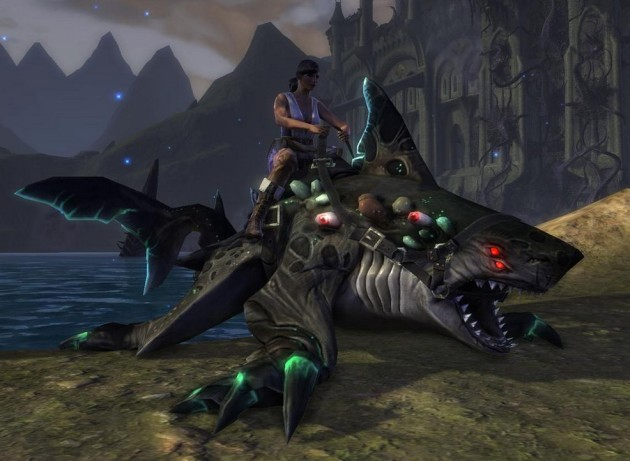Nightmare Thresher Mount Preview