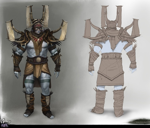 Planetouched Wilds Bahmi Concept Art by Stephen Mabee