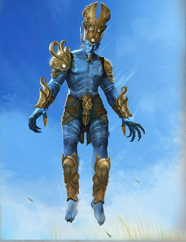 Planetouched Wilds Possible Shalistiri Concept Art by Stephen Mabee