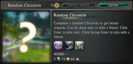 Random Chronicle Queue PTS