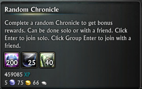 Random Chronicle Reward PTS 11th July 2015
