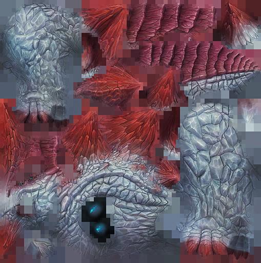Razorbeast Crystal Dino Skin