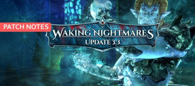 RIFT 3.3 Waking Nightmares Patch Notes Feature Image