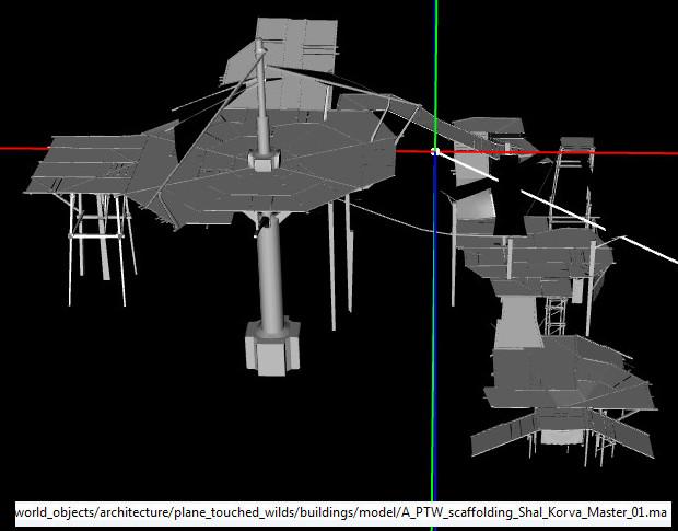 Shal Korva Master Scaffolding Model PTS 1