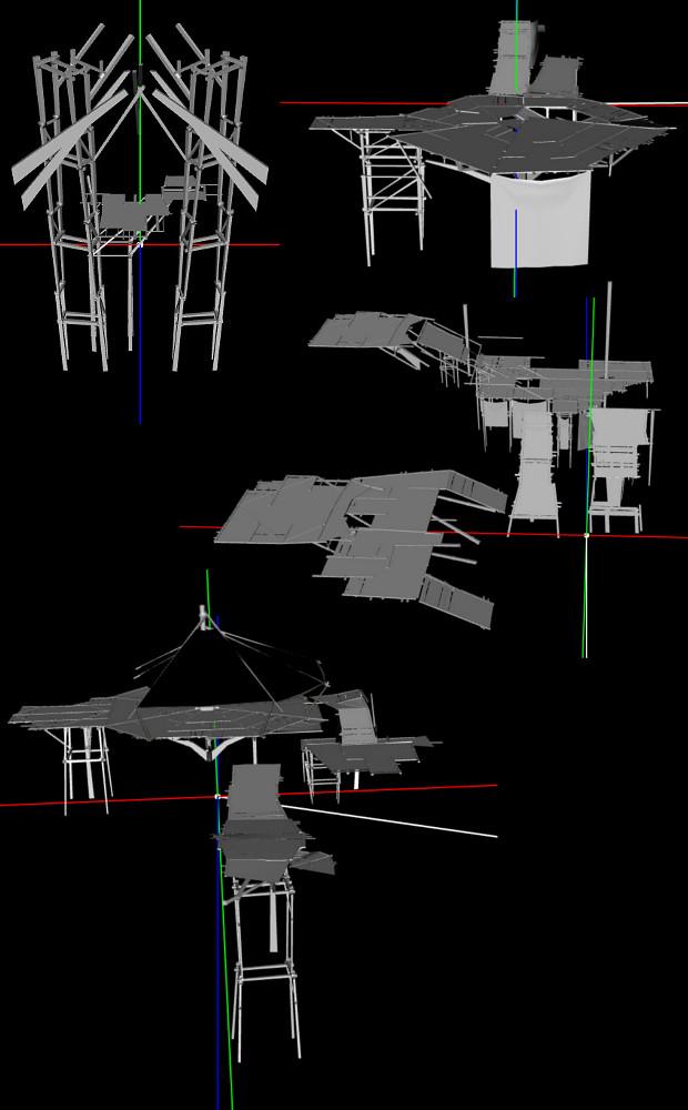 Shal Korva Master Scaffolding Model PTS 3