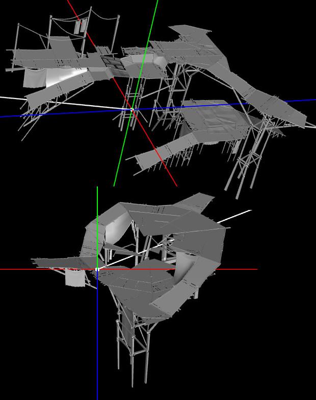 Shal Korva Master Scaffolding Model PTS 5