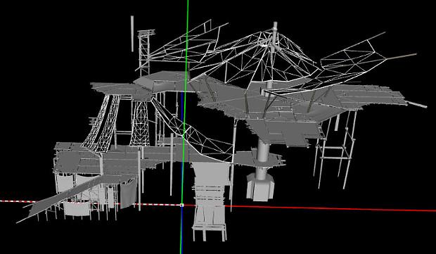 Shal Korva Master Scaffolding Model PTS 6
