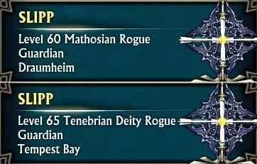 Tenebrian Deity Rogue by Slipmat