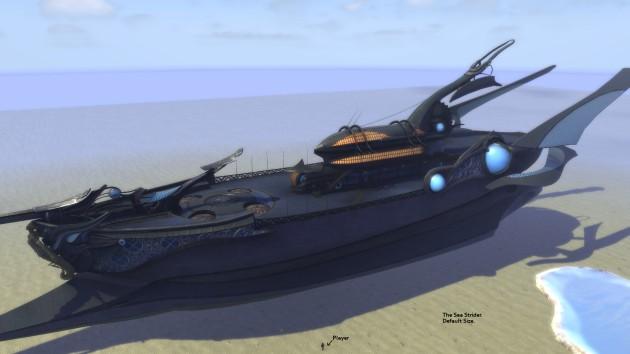 The Sea Strider Dimension Item Main