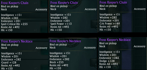 Tier 1 RIFT Store Necklace Cleric