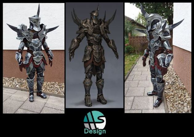 Warrior Frost Keepers Cosplay by HS-Design