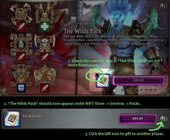 Gifting The Wilds Pack