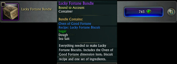 Lucky Fortune Bundle Tooltip