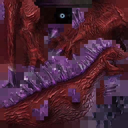 Planetouched Wilds Crystal Dino Skin 2