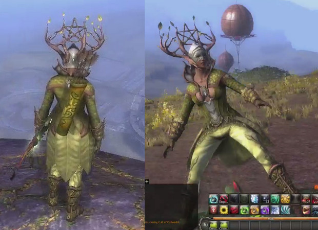 Planetouched Wilds Fae Outfit