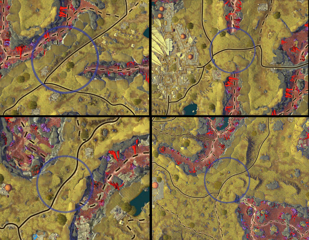 Planetouched Wilds Map Analysis Tunnels