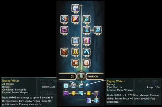 Primalist Livestream Typhoon Soul Tree Tooltips