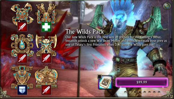 The Wilds Pack RIFT Store Feature Image
