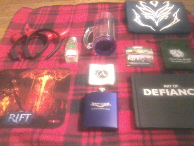 Trion PAX Prime 2015 Loot by Kyrgyz
