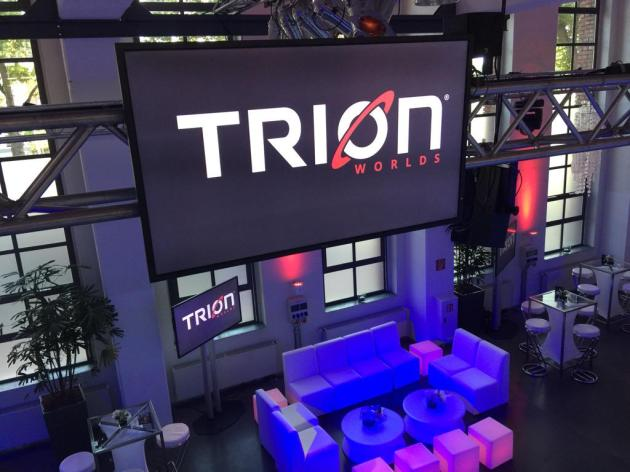 Trion Worlds New Logo at Gamescom