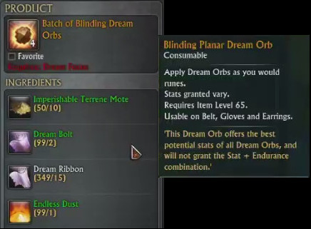 Batch of Blinding Dream Orbs