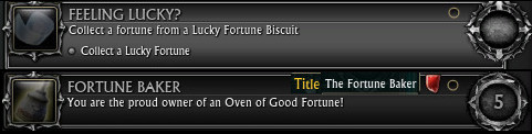 Lucky Fortune Biscuit Achievements