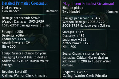 Magnificent Primalist Greatmaul PTS