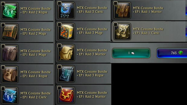 MTX Costume Bundle PTS