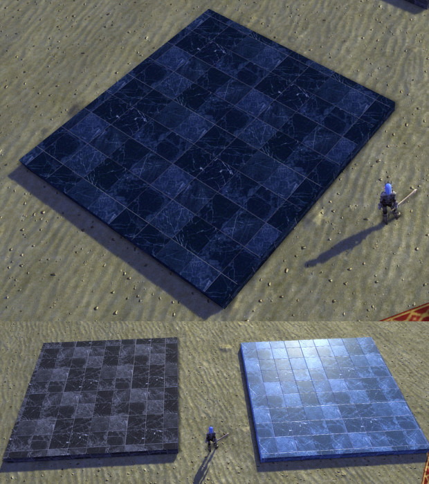 New Dimension Tiles