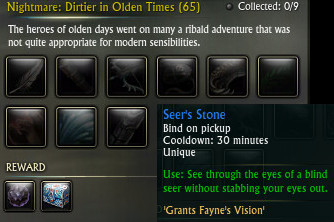 Nightmare Dirtier in Olden Times Seer's Stone