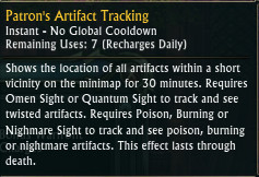 Patron Artifact Tracking 3.4 PTS