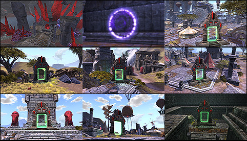 Planetouched Wilds Map Preview Thumbnails