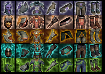 Planetouched Wilds Wardrobe Sets Icons