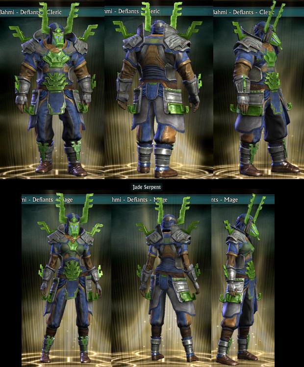 RIFT Jade Serpent Wardrobe