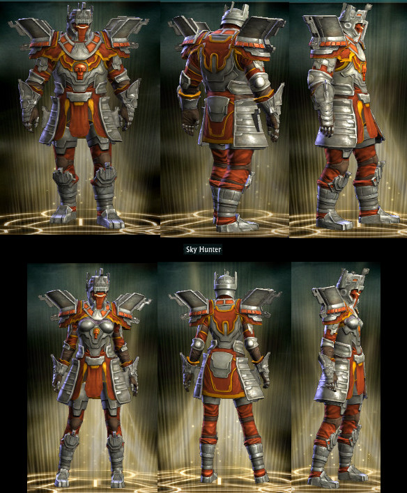 RIFT Sky Hunter Wardrobe