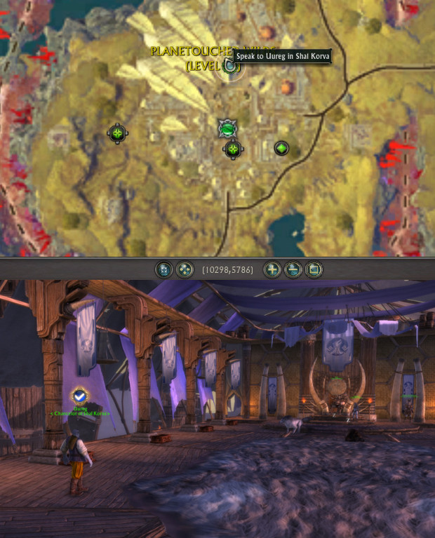 Uureg Shal Korva Location Act II Planetouched Wilds Quest