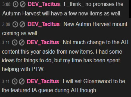 Wardrobe Wednesday Tacitus Autumn Harvest Sets