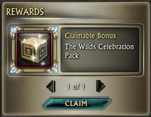 2nd The Wilds Celebration Pack PTS