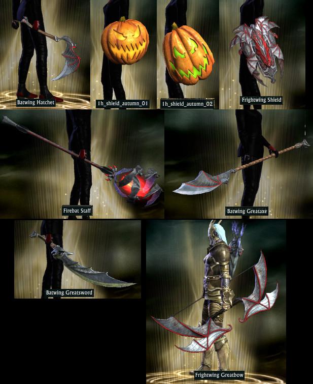 Autumn Harvest 2015 New Weapons