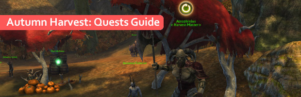 Autumn Harvest Quests Guide Banner