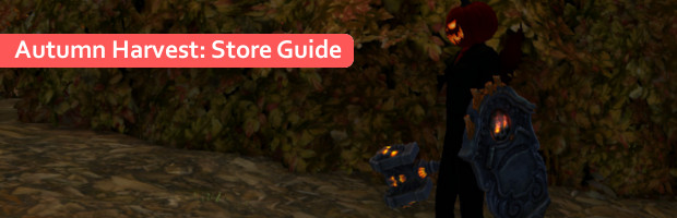 Autumn Harvest Store Guide Banner